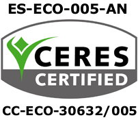 Ceres Zertifikat für Bio-Produkte